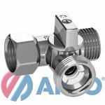 Кран для Стиральной Машины (ARCO) 3-ёх Проходной - 1/2 х 3/4 х 1/2