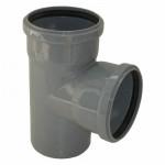 Тройник для Внутренней канализации ПВХ 110 / 90*