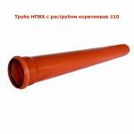 Труба Канализационная Наружная 100 - 2.0м (НПВХ)