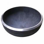 Заглушка Стальная эллиптическая под приварку - 108 (Дн 108х4,0)