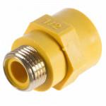Муфта Диэлектрическая для газового шланга - 1/2 г/ш (резьба внутренняя - наружная)