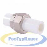 Разъём Полипропилен РТП - 20 наруж./наруж.