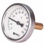 Термометр Watts до + 120* тыловой с вставкой