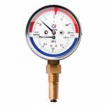 Термоманометр РОСМА + 120* - 16 кгс