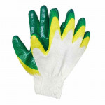 Перчатки Люкс х/б с 2-ым Латексным покрытием