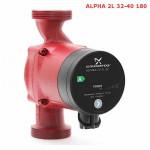 НасосGrundfos ALPHA2 L 32-40 Авторегулировка по потребности Потребление от 5 -до 22 Вт. Рабочее давл.- max 10 bar., Напор - 4м. Maкс. подача - 2.4 куб.метра. t* жидкости от +2 до +110*. Производитель Дания