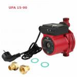 НасосGrundfos UPА 15-90 повышающий давление для систем  водоснабжения, Бесшумный, Защита от сухого хода, 3-ёх скоростной режим работы. Подача до 1.5 куб.метров, Напор до 9 метров, t жидкости от+2 до+95, Давл. до - 10 bar