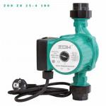 Насос ZOX Циркуляционный ZX 25 - 40 t max+110*, Потребление 0.060кВт. Напор max-3.5 м.