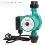Насос ZOX Циркуляционный ZX 25 - 80 t max+110*, Потребление 0.172кВт., Напор max-7.5 м.