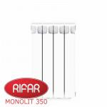 Радиатор Биметаллический RIFAR MONOLIT-350 - 4 секции