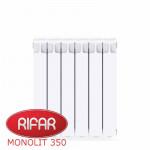 Радиатор Биметаллический RIFAR MONOLIT-350 - 6 секций