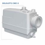 Насосная Установка Канализ-ая Grundfos SOLOLIFT2 СWC-3 Подключение : унитаз Навесной - писсуар - раковина - биде или  душевая кабина. Tmax-50*C, 0,62кВт, 1х220Вт.