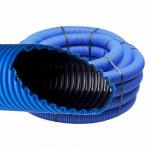 Труба полимерная 2-ух Слойная - 110 (цвет синий)